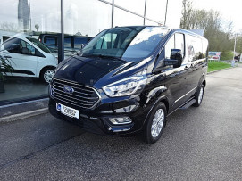 Ford Tourneo Custom PREMIUM-S 170 PS EcoBlue AUTOMATIK (TITANIUM-AUSSTATTUNG zum Bestpreis) bei Fahrzeugbestand – Ford Danner – Oberösterreich in Ihre Fahrzeugfamilie