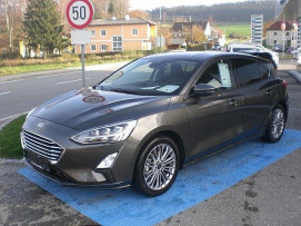 Ford Focus PREMIUM 5tg. 125 PS EcoBoost (TITANIUM BUSINESS) bei BM || Ford Danner PKW in