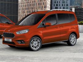 Ford Tourneo Courier PREMIUM 100 PS TDCi (TITANIUM-AUSSTATTUNG) bei BM || Ford Danner PKW in