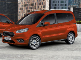 Ford Tourneo Courier STYLE 100 PS EcoBoost (TREND-AUSSTATTUNG) bei BM || Ford Danner PKW in
