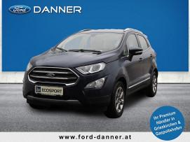 Ford EcoSport TITANIUM 100 PS EcoBlue (PREMIUM-AUSSTATTUNG / LAGERABVERKAUF) bei BM || Ford Danner PKW in