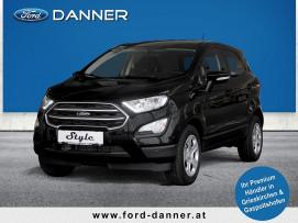 Ford EcoSport TREND 100 PS EcoBoost (STYLE-AUSSTATTUNG / BESTPREIS) bei BM || Ford Danner PKW in