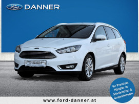 Ford Focus TITANIUM Traveller 1,5 TDCi (BESTPREIS + € 1.000,- FINANZIERUNGSBONUS*) bei BM || Ford Danner PKW in