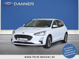 Ford Focus TITANIUM BUSINESS 5tg. 120 PS EcoBlue (VOLLAUSSTATTUNG zum BESTPREIS) bei BM || Ford Danner PKW in