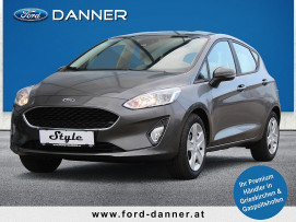 Ford Fiesta COOL & CONNECT 5tg. 75 PS Benzin (STYLE-AUSSTATTUNG) bei BM || Ford Danner PKW in