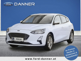 Ford Focus COOL & CONNECT 5tg. 100 PS EcoBoost (STYLE-AUSSTATTUNG / LAGERABVERKAUF) bei BM || Ford Danner PKW in