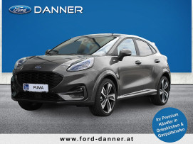 Ford Puma ST-LINE X 125 PS EcoBoost Mild-Hybrid (clevere Fahrer-Assistenzsystemen) bei BM || Ford Danner PKW in