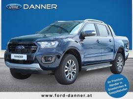 Ford Ranger Doppelkabine WILDTRAK 4×4 2,0 EcoBlue 214 PS Autm.(NEUES MODELL / € 33.980 exkl. / LAGERABVERKAUF) bei BM || Ford Danner PKW in