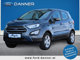 Ford EcoSport COOL & CONNECT 100 PS EcoBoost (PREMIUM-AUSSTATTUNG) bei BM || Ford Danner PKW in
