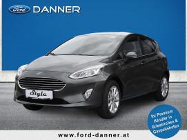 Ford Fiesta TITANIUM 5tg. 95 PS EcoBoost (PREMIUM-AUSSTATTUNG / LAGERABVERKAUF) bei BM || Ford Danner PKW in