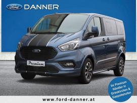 Ford Tourneo Custom SPORT 185 PS Ecoblue Automatik 320L1 (PREMIUM-AUSSTATTUNG / LAGERABVERKAUF) bei BM || Ford Danner PKW in