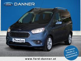 Ford Tourneo Courier TITANIUM 100 PS TDCi (LAGERABVERKAUF / PREMIUM-AUSSTATTUNG) bei BM || Ford Danner PKW in