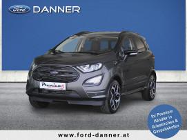 Ford EcoSport ST-LINE 125 PS EcoBoost (LAGERABVERKAUF / PREMIUM-AUSSTATTUNG) bei BM || Ford Danner PKW in