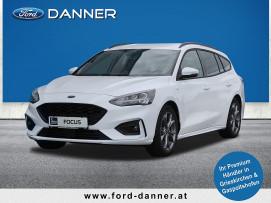 Ford Focus ST-LINE Kombi 125 PS EcoBoost Mild-Hybrid (LAGERABVERKAUF / PREMIUM-S AUSSTATTUNG) bei BM || Ford Danner PKW in