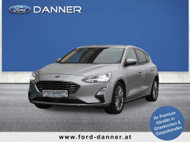 Ford Focus TITANIUM BUSINESS-X 125 PS (+ € 1.000,– FINANZIERUNGSBONUS*) bei BM || Ford Danner PKW in