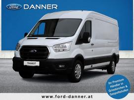 Ford Transit Kasten 2,0 EcoBlue L2H2 350 Trend 130PS (€ 21.880,– exkl. / LAGERABVERKAUF + VOLLKASKO GRATIS*) bei BM || Ford Danner PKW in