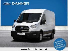Ford Transit Kasten 2,0 EcoBlue L2H2 350 Trend 130PS (€ 21.180,– exkl. / LAGERABVERKAUF +  VOLLKASKO GRATIS*) bei BM || Ford Danner PKW in