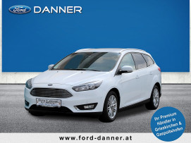 Ford Focus TITANIUM Kombi 120 PS TDCi (+ € 1.000,– FINANZIERUNGSBONUS*) bei BM || Ford Danner PKW in