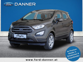 Ford EcoSport COOL & CONNECT 100 PS EcoBoost (STYLE-AUSSTATTUNG / BESTPREIS) bei BM || Ford Danner PKW in