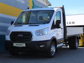 Ford Transit Pritsche 2,0 EcoBlue L4H1 350 Trend 130PS Heck Zwillingsbereifung (€ 23.180,– exkl. / LAGERABVERKAUF + VOLLKASKO GRATIS*) bei BM || Ford Danner PKW in