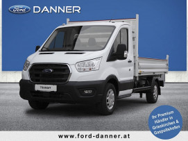 Ford Transit Pritsche mit Kippfunktion 2,0 TDCi L2H1 350 Trend Heck  ( € 27.280,– exkl. / LAGERABVERKAUF  + VOLLKASKO GRATIS*) bei BM || Ford Danner PKW in