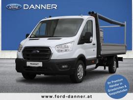 Ford Transit Pritsche mit Ladegutträger 2,0 TDCi L4H1 350 Trend HECK  ( € 23.580,– exkl. / NEUES MODELL) bei BM || Ford Danner PKW in