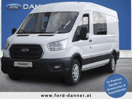 Ford Transit Kasten DoKa 2,0 EcoBlue L3H2 350 Trend  (€ 23.280,– exkl. / LABERABVERKAUF + VOLLKASKO GRATIS*) bei BM || Ford Danner PKW in