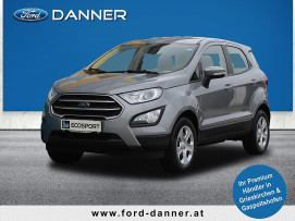 Ford EcoSport COOL & CONNECT 100 PS EcoBoost (STYLE-AUSSTATTUNG) bei BM || Ford Danner PKW in