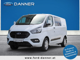 Ford Transit Custom Kasten DK 2,0 TDCi L2H1 340 Trend (€ 24.380,– exkl. / LAGERABVERKAUF + VOLLKASKO GRATIS*) bei BM || Ford Danner PKW in