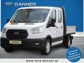 Ford Transit Pritsche DoKa 2,0 EcoBlue L2H1 350 Trend (€ 22.980,– exkl. / NEUES MODELL) bei BM || Ford Danner PKW in