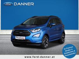Ford EcoSport ST-LINE 125 PS EcoBoost  (TAGESZULASSUNG / BESTPREIS) bei BM || Ford Danner PKW in