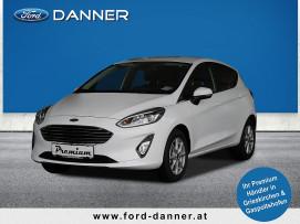 Ford Fiesta TITANIUM 5tg. 75 PS (PREMIUM-AUSSTATTUNG) bei BM || Ford Danner PKW in