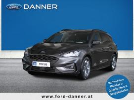 Ford Focus ST-LINE Kombi 125 PS EcoBoost Mild-Hybrid LICK & COLLECT AKTION / FINANZIERUNGSAKTION*) bei BM || Ford Danner PKW in