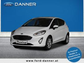 Ford Fiesta TITANIUM 5tg. 95 PS EcoBoost (PREMIUM-AUSSTATTUNG) bei BM || Ford Danner PKW in