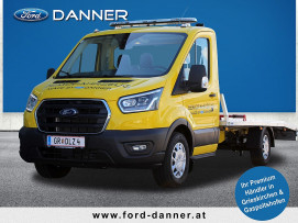 Ford Transit Fahrgestell-Abschleppwagenaufbau TREND 130PS EcoBlue L3H1 350 (€ 39.983,– exkl.) bei BM    Ford Danner PKW in