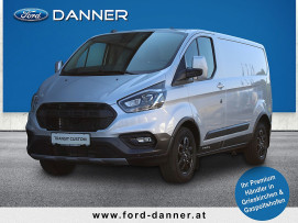 Ford Transit Custom Kasten Trail L1H1 340 130PS (€ 29.372,– inkl. NOVA exkl. MWST) bei BM    Ford Danner PKW in