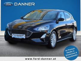 Ford Focus TITANIUM 125PS EcoBoost (TOP-AUSSTATTUNG ZUM BESTPREIS) bei BM    Ford Danner PKW in